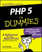 Php for dummies - Book